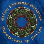 Celtic Christmas Greeting Card with Celtic Knotwork Wreath
