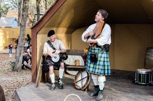 Marc Gunn and Randy Wothke at Sherwood Forest Faire