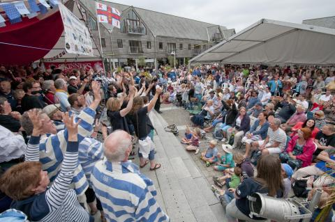 Cornwall Festivals and Musicians